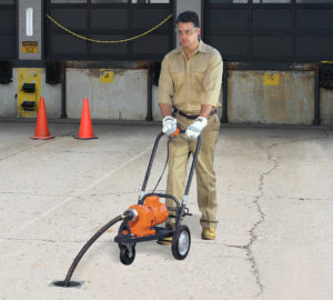 General Pipe Cleaners Model 88 sectional drain cleaning machine