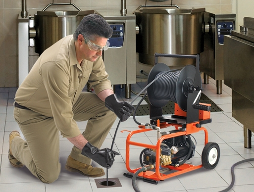 Drain Cleaning Machine Water Jetters Before Jetter Use