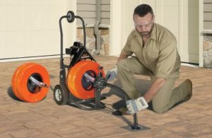 Speedrooter XL power drain cleaning machine
