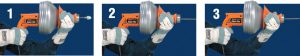 Super-Vee® Small Drain Specialist operation steps