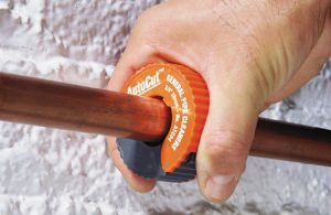 The AutoCut copper tubing cutters from General Pipe Cleaners is a handy plumbing tool that every plumber should have.