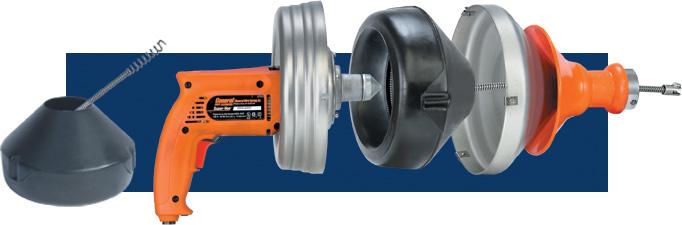 Super-Vee® drain chuck cutaway