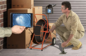Gen-Eye POD video pipe inspection system with Wi-Fi