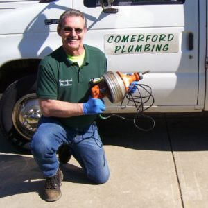 John Comerford - Limpiador de drenajes eléctricos Super-Vee