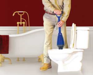 VersePlunge toilet plunger is designed to reduce splash-backs and wet floors via innovative features you won't find in other toilet plungers!